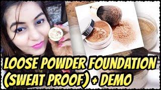 DIY Loose Powder Foundation - Natural | Demo in LIVE video | JSuper Kaur