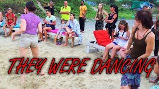 Most peaceful and happening beach of GOA | Foreigners sing Hare Rama Hare Krishna at Arambol Beach