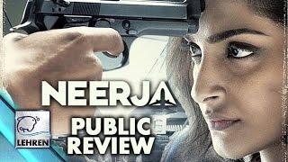 'Neerja' PUBLIC Review | Sonam Kapoor | Shabana Azmi