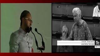 "Calling ""Bharat Mata Ki Jai"" not duty but birthright being an Indian: Javed Akhtar"