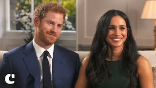 Prince Harry and Meghan Markle on Princess Diana and the Engagment Ring
