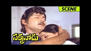 Shoban Babu Saves Vijayashanti From Goons - Climax Action Scene - Sakkanodu Movie Scenes