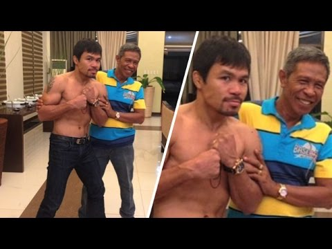 Manny Pacquiao's Dad Ate His... Dog?!