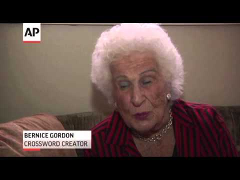 Crossword Creator Celebrates Century Mark News Video