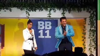 Jamie Lever HILARIOUS Mimicry For Salman Khan | Bigg Boss 11 Launch