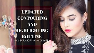 UPDATED CONTOURING AND HIGHLIGHTING ROUTINE