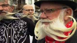 Raw- Austria Beard Competition Gets Hairy Video