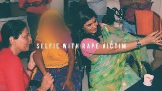 Selfie with Rape Victim- Rajasthan State Commissioner for Women takes selfie with rape victim