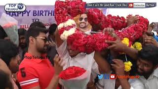 Bellamkonda Srinivas Birthday Celebrations | Bellamkonda Sreenivas | Top Telugu TV