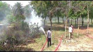 सूबे में जारी है आग का तांडव, कई बीघा फसल बर्बाद