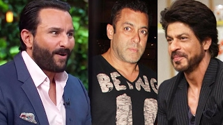 Saif Ali Khan Wants To Marry Shahrukh & Hook Up With Salman