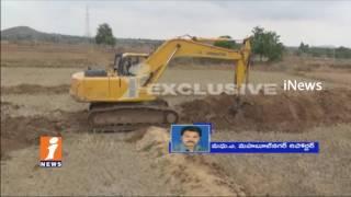 Shame | Koderu Police Arrests Farmers For Obstruct Kalwakurthy Lift Irrigation Works | iNews