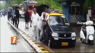 Heavy Rains Create Huge Crisis For Public In Mumbai | Roads Filled Up With Flood Water | iNews