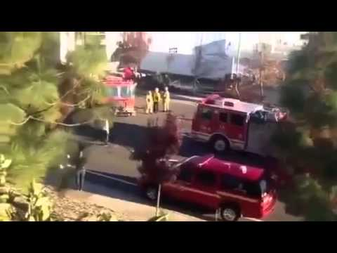 Paul Walker Car Crash, NEW VIDEO !! Death Scene Porsche GT Crash On Fire Caught On Camera! - Best Funny Video