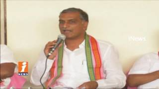 Govt Will Clear Drought in Mahbubnagar With Krisha Water | Harish Rao | iNews