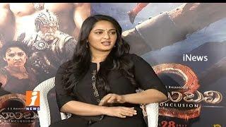 Anushka About Her Character Devasena In Baahubali 2 | Prabhas | Rana Daggubati | iNews