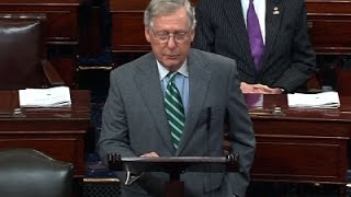 McConnell- People Deserve Voice in Court Vacancy News Video