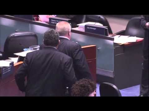 Raw: Ford Knocks Over Woman Councilor News Video