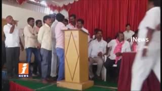 Clases Between TRS Activists And MLA Teegala Krishna Reddy | Maheshwaram | iNews