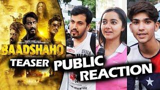 BAADSHAHO Teaser - Public Reaction -  Ajay Devgn, Emraan Hashmi