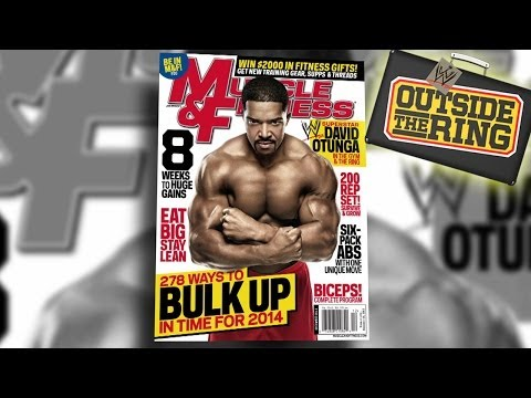 Behind the Scenes at David Otunga's Muscle & Fitness cover shoot - Outside the Ring - Ep. #42 - WWE Wrestling Video