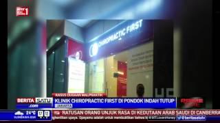 Dugaan Malpraktik, Klinik Chiropractic di Pondok Indah Mal Tutup
