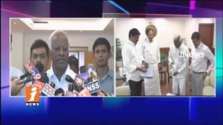 Minister Ganta Srinivasa Rao & Kadiyam Srihari Meet Venkaiah Naidu   Unified Services Issues   iNews