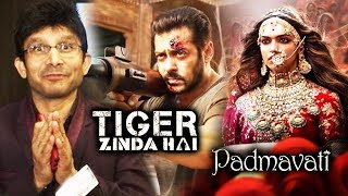 KRK Predicts Tiger Zinda Hai Will Cross 375 Cr, Tiger Zinda Hai And Padmavati have 1 Thing Common
