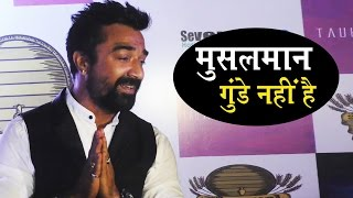 Ajaz Khan Is Back - Reacts To Sonu Nigam's Azaan Controversy