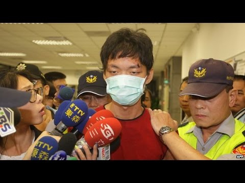 Taiwan Man sentenced to Death for Train Stabbings News Video