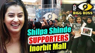 Shilpa Shinde FANS GATHER In Huge Numbers In Inorbit Mall To Support | Bigg Boss 11 Mall Task