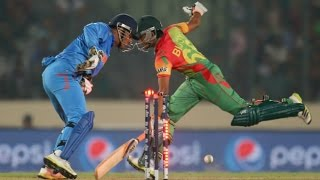 India vs Bangladesh, India Won by 1 run World T20, 2016, Match 25