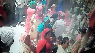 नैना देवी मंदिर में महिला चेन स्नैचर गिरोह का आतंक, सीसीटीवी में कैद हुई वारदात