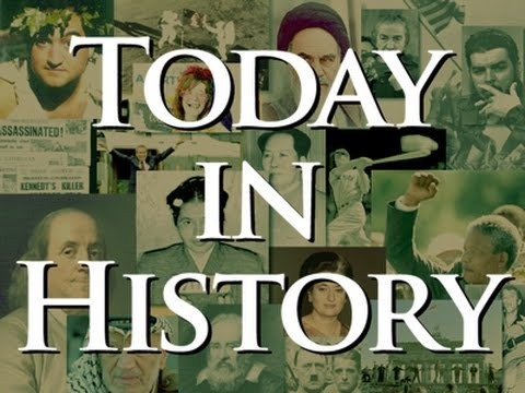 Today in History for April 25th News Video