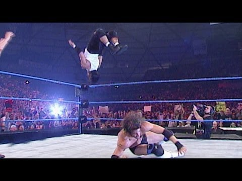 Gregory Helms vs. Billy Kidman - WCW Cruiserweight Championship- SmackDown, July 5, 2001 - WWE Wrestling Video