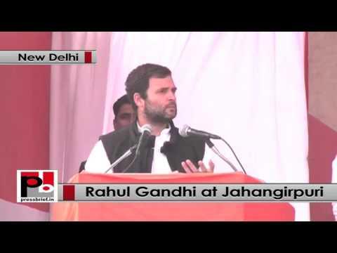 At Delhi rally, Rahul Gandhi breaks silence on Jayanthi Natarajan's allegations