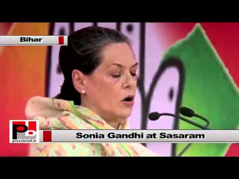 Sonia Gandhi - We must be cautious from those who frequently change their colours