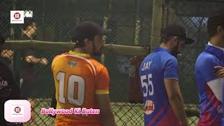 Sohail Khan & Aditya Thackeray At Yuva Mumbai vs Mumbai Heroes Cricket Match