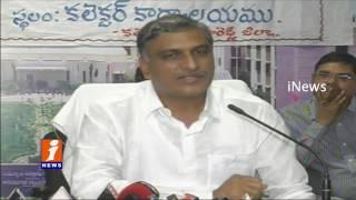 Harish Rao Relased Funds of Kalyana Lakshmi And Shadi Mubarak At Sanga Reddy |  iNews