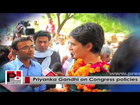 Charismatic Priyanka Gandhi Vadra - young Congress campaigner with innovative vision