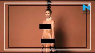 Kim is at it again! Breaks internet with naked selfie