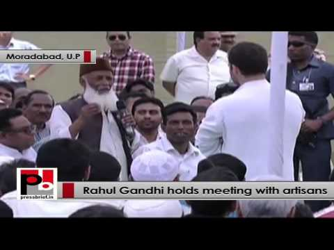 Rahul Gandhi to artisans - I have enough time for you