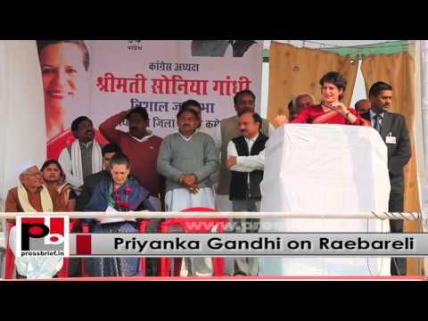 Priyanka Gandhi - energetic and charismatic leader; resembles Indira Gandhi