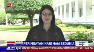 Jokowi Peringati Hari HAM Sedunia