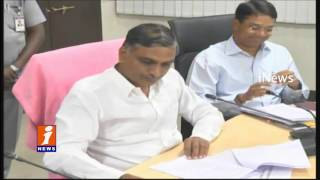 Harish Rao Review Meeting With Officials Over Rabi Crops in Telangana | iNews
