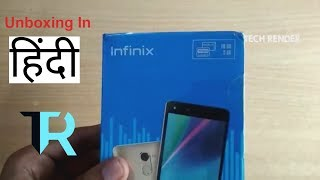 infinix Hot 4 Pro Unboxing in India | Hindi | Tech Render |