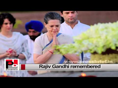 Rajiv Gandhi, a great visionary leader who initiated IT revolution in India