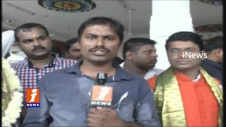 Balapur Laddu Winner Skylab Reddy Express Happy Over Ganesh Laddu Winning | iNews
