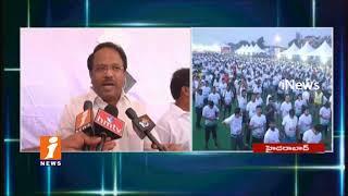 Minister Laxma Reddy Participates Freedom Hyderabad 10K Run At Hussain Sagar | iNews