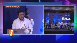 IT Minister KTR Speech at T-Wallet Launch | IT Annual Report 2017 | Hyderabad | INews